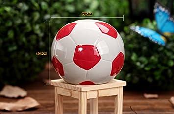 Eoamlk Fashion Fußball Form Spardose Sparschwein Kinder