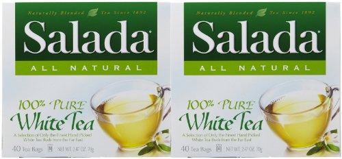 Salada Pure White Tea, 40 ct, 2 pk
