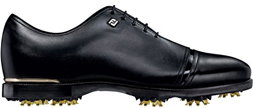 FootJoy Icon Black Golf Shoes 52043 Closeout All Over Bla...