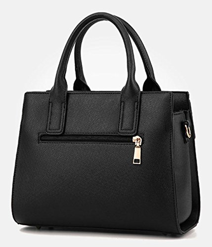 Handle Women shoulder Handbags 2018 Quality New for Tote handles High Black Alidear New Satchel Brand and Top bag women handbag qPxXIzO0