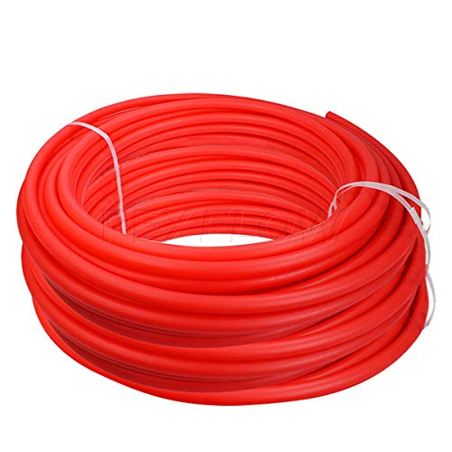 PEXFLOW PFR-R121000 Oxygen Barrier PEX Tubing for Hydronic Radiant Floor Heating Systems, 1/2 Inch, Red
