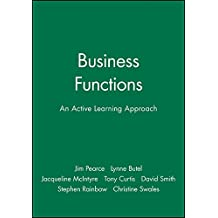 Business Functions: An Active Learning Approach (Open Learning Foundation)