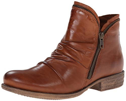 Miz Mooz Womens Luna Ankle Boot Brandy