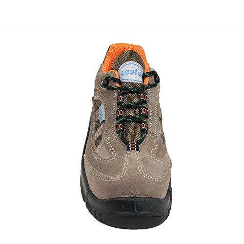 COFAN - Calzado de protección de Piel para hombre Marrón marrón jsYd8fa