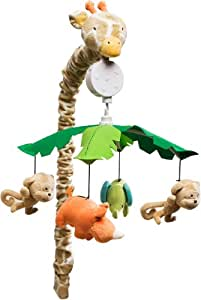 Carter's Wildlife Musical Mobile, Beige (Discontinued by Manufacturer)