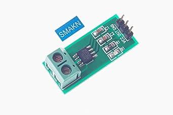 SMAKN® Electrical Parts 5A Range Current Sensor Module ACS712