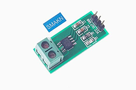 SMAKN® Electrical Parts 5A Range Current Sensor Module ACS712
