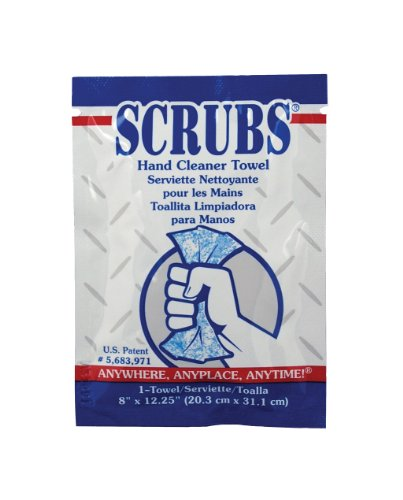 (ITW Dymon DYM42201 Scrubs Hand Cleaner Towel, 12-1/4