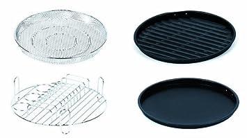 Horno Turbo Flavorwave 4 piezas Juego de accesorios de lujo, jardín, césped, Mantenimiento