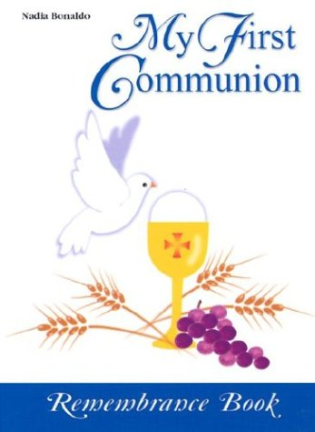 My First Communion Book: Remembrance Book