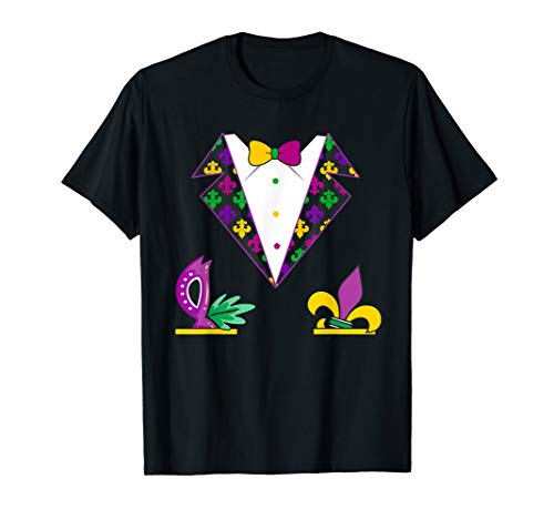 Tuxedo Vest Mardi Gras Costume-This is My Mardi Gras -