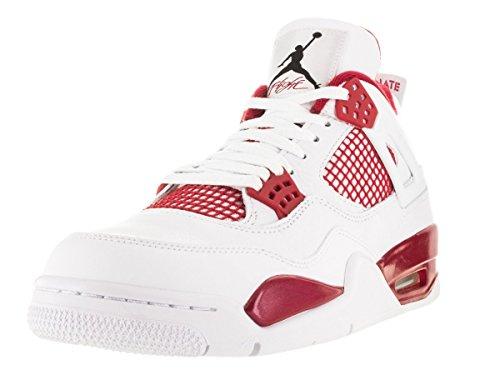 Uomo Jordan Nero gym 4 NIKE Fitness Retro Nero Bianco Rosso Scarpe Red Air da Bianco TST5xqWw10