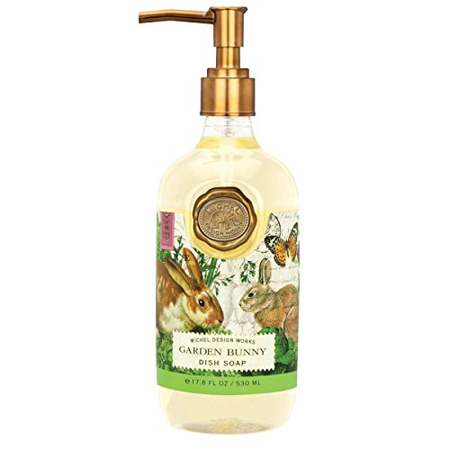 Michel Design Works Scented Dish Soap, 17.8-Ounce, Garden Bunny from Michel Design Works