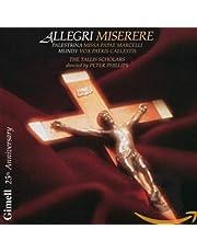 Allegri: Miserere; Palestrina: Missa Papae Marcelli