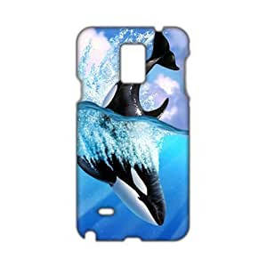 blue sea whale 3D Phone For Ipod Touch 5 Case Cover
