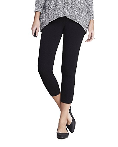 Cropped Pants Cotton (Women's Cotton Capri Cropped Leggings Pants (Large, Black))