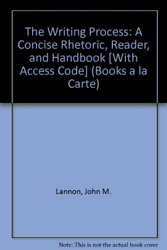 Writing Process, The, Books a la Carte Plus MyCompLab with eText -- Access Card Package (11th Edition)