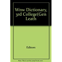 Webster's New World Dictionary of American English/Third College Edition