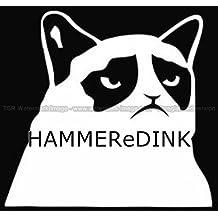 Grumpy Cat JDM Die Cut Vinyl Truck & Car Decal Window Sticker