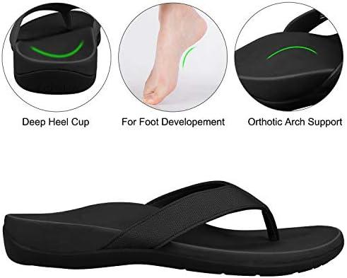 IRSOE Orthotic Flip Flops Thongs Women