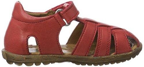 Naturino Unisex-Kinder See Geschlossene Sandalen Rot (Rot)