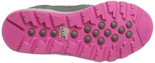 Sorel Youth Whitney Short Lace Boot Quarry/Pink Ice (4.5 Big Kid) by SOREL (Image #3)