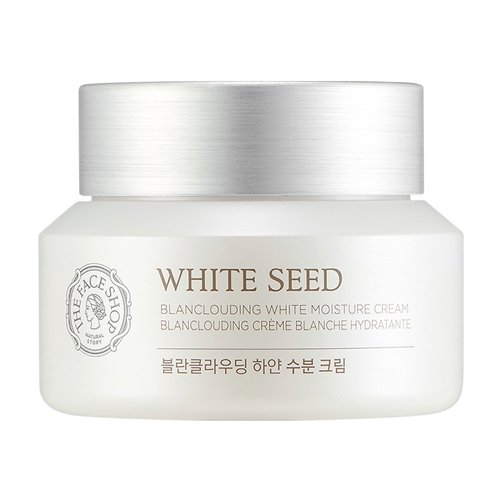 The Face Shop White Seed Blanclouding Moisture Cream Skin Brightening 1.69 Oz