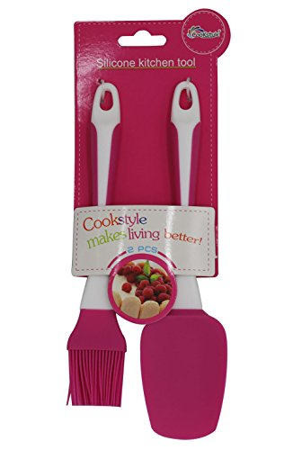 Silicone Basting & Pastry Brushes,Simpleulife Kitchen Basting , Professional Soft Pastry ,Turkey Baster brush ,pink silicone spatula Kit Set of 2 Great for BBQ Meat, Cakes & Pastries by Simpleulife (Image #6)