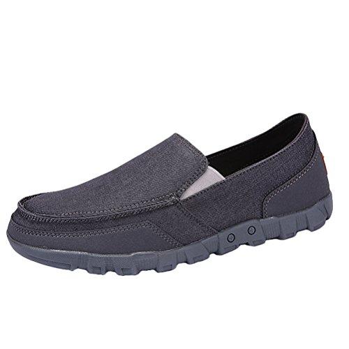 MatchLife Unisex Flache Grau Schuhe Freizeit Segeltuch Trend Untere Paare Style1 rWrnBxU