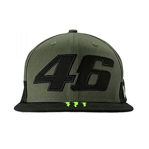 (Valentino Rossi VR46 Moto GP Monster Camp Edition Flat Peak Cap Official 2019)