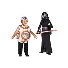 Big Boys' Star Wars Kylo Ren and Bb8 Droid Toddler/child Costume Set