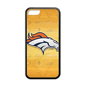 Personal Customization Denver Broncos 3 Hot sale Phone Case for iPhone 5c Black