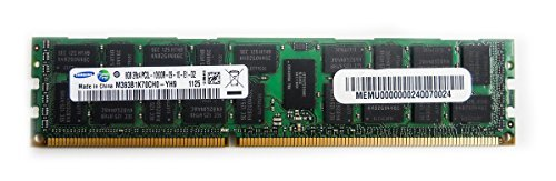 Samsung M393B1K70CH0-YH9 8GB PC3L-10600R DDR3-1333 ECC Registered  2RX4 Server  Memory (Sdram Registered Ecc)