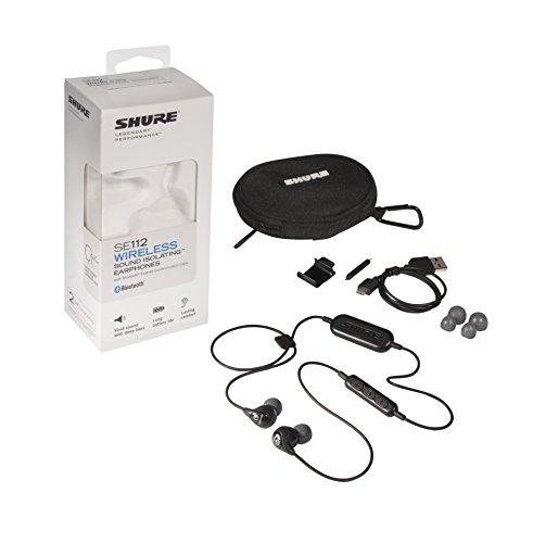 Shure SE112-K-BT1 Wireless Sound Isolating Earphones by Shure (Image #3)