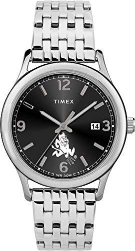 Timex Women's Arizona State University Watch Sage Stainless Watch (Devils Watch Ladies Sun State)