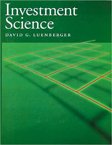 investment science luenberger kindle