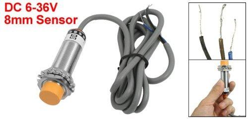 Enfoque eDealMax 6-36V 200mA Cilindro Sensor de proximidad inductivos Digital NPN No: Amazon.com: Industrial & Scientific
