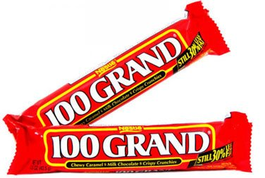 One Hundred Grand Bar, 36 count