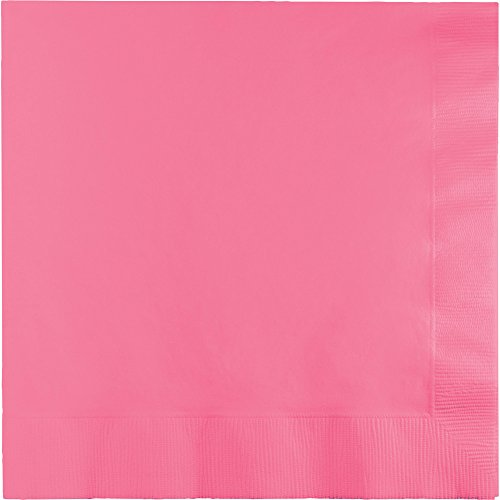 Touch of Color 3-Ply Paper Lunch Napkins, Candy Pink, ()