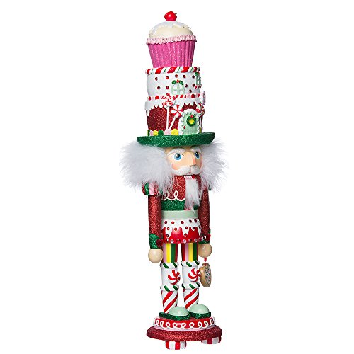 Kurt Adler 18 Hollywood Cupcake and Sweets Nutcracker