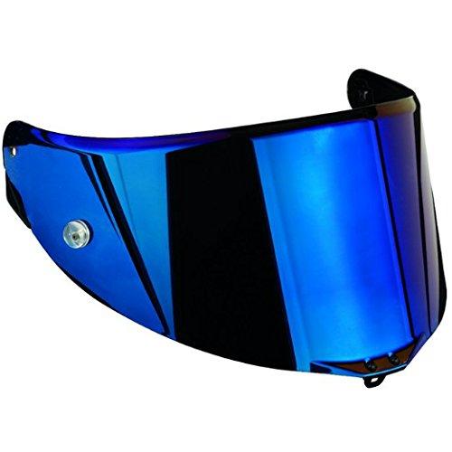 AGV Iridium Blue Anti Scratch Motorcycle Helmet Visor Pista GP, Corsa, GT Veloce KV0A6N1-002