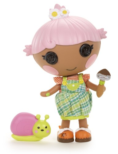 Lalaloopsy Littles Doll, Blossom's Little Sister, Petal Flowerpot