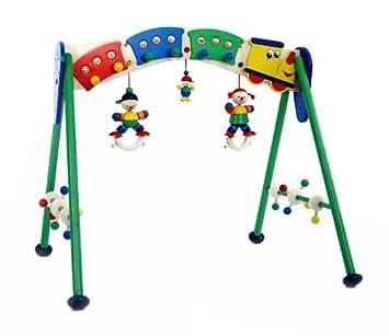 Hess-Spielzeug 13331 - Babyspielgerät Eisenbahn