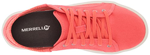sale official Merrell Women's Around Town City Lace Canvas Sneaker Hot Coral largest supplier 3PnqGoFoy0