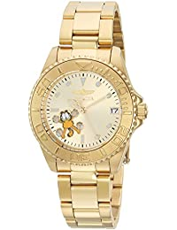 Womens Character Collection Automatic Stainless Steel Diving Watch, Color:Gold-Toned