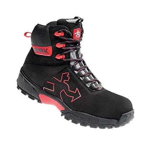 Baak 7374 - Botas protectoras robert deportes ligeros zapatos de s2p esd bgr 191 talla 43, negro,