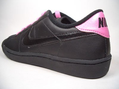 Nike Tennis Classic Leather 312809 – 001 NERO/ROSA TAGLIA 36,5/US 4,5y Euro/UK 4/23,5 cm