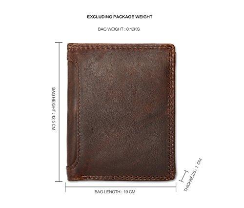 JOYIR - Bolso bandolera  Hombre marrón marrón 12.5D*10L*1H marrón