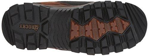 Brown FQ0004753 Rocky Dark Men's Mid Calf Boot wnO5F0qSY