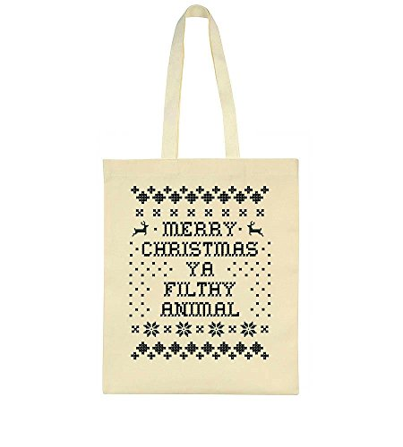 1981633f62 Animal Ya Christmas Bag Design Tote Filthy Merry a5tfnHq5